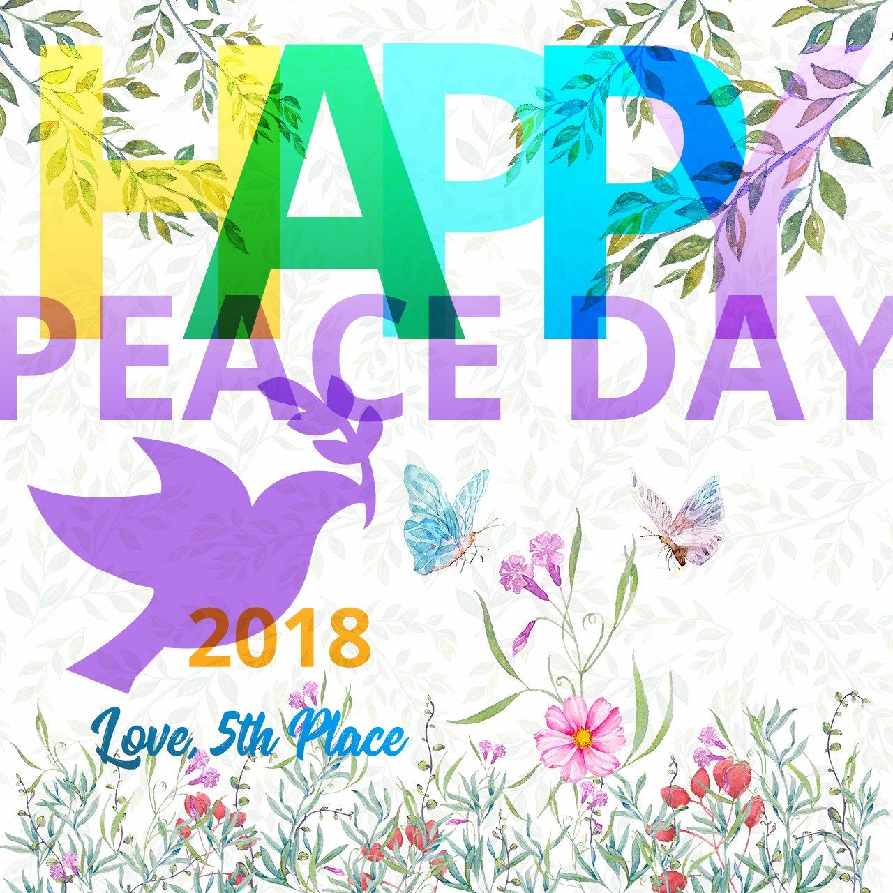 Celebrating International Day of Peace on 21 September
