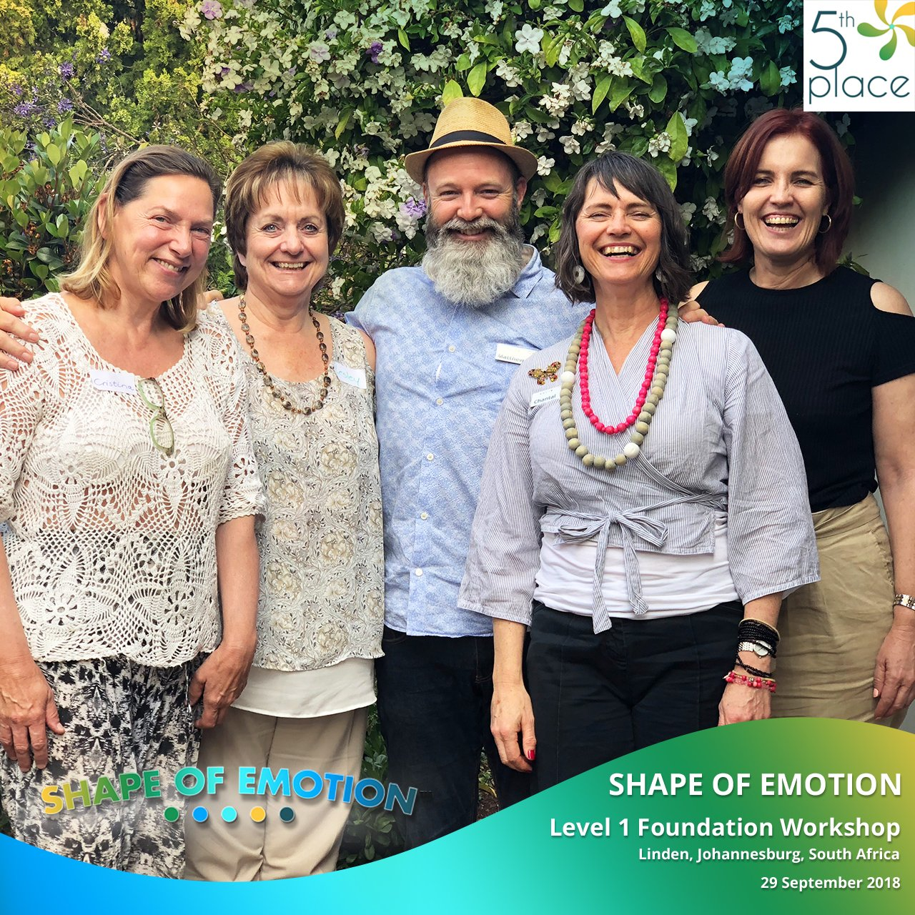 Shape of Emotion Level 1 Foundation. 29 September, 2018